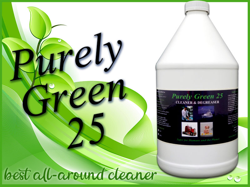 Purely Green 25 what yp