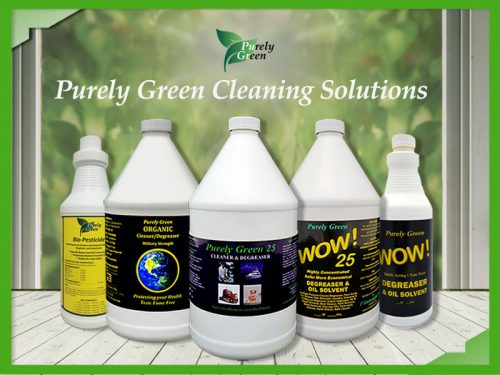 Purely Green Cleaning Solutions
